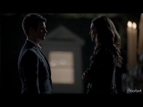 """The Originals 1x05 Elijah's return, Hayley slaps Elijah """"You're back. I'm back"""""""