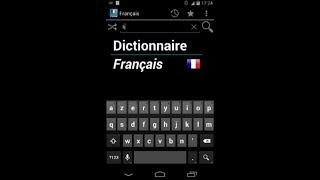 French Dictionary - Offline YouTube video