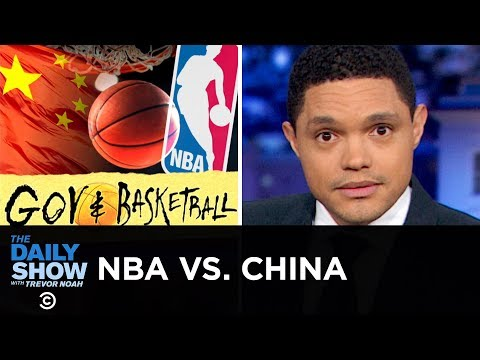 The NBA s Full-Court Drama with China  The Daily Show