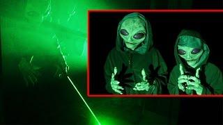 This Alien Invasion Prank Is Definitely Your Worst Nightmare!