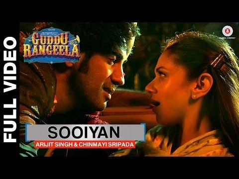 Sooiyan | Guddu Rangeela | Aditi Rao Hydari & Amit Sadh | Arijit Singh & Chinmayi Sripada