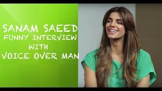 Video Sanam Saeed Funny interview with Voice Over Man  - Episode 10 MP3, 3GP, MP4, WEBM, AVI, FLV Mei 2018