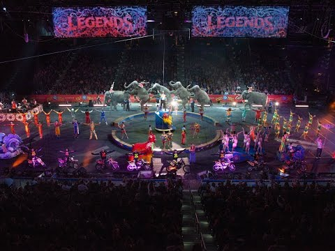 ringling - Behold the living legends! Ringling Bros. and Barnum & Bailey® brings the unbelievable to Children Of All Ages in an all-new show - - Ringling Bros and Barnu...