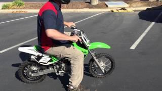 10. Contra Costa Powersports-Used 2014 Kawasaki KX65 2-stroke racing kiddie dirt bike motorcycle
