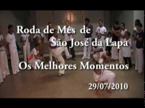 Capoeira NEGRIM - São José da Lapa - Melhores momentos da Roda de Mês (JULHO 2010) - Parte 1 de 2