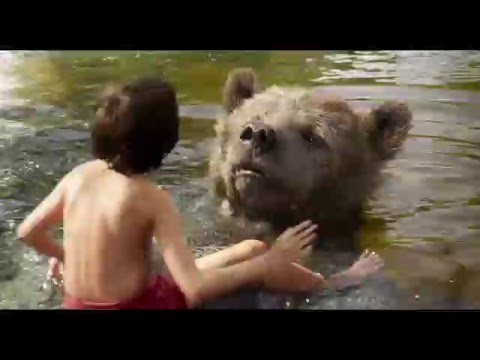 The Jungle Book - Bare Necessities   official clip (2016) Balu