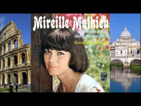 Tekst piosenki Mireille Mathieu - Roma, Roma, Roma po polsku