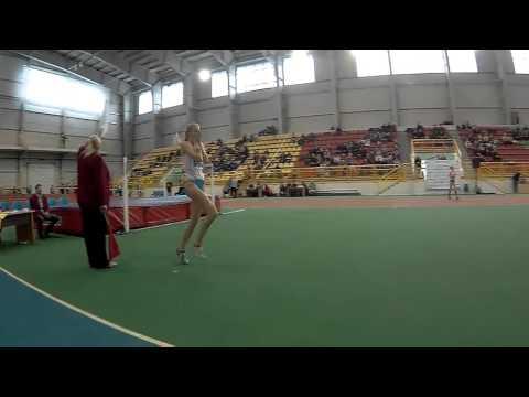 Ілона Заскалько 180 PB ( Чемпіонат України в приміщенні серед юніорів 13.02.2016 )