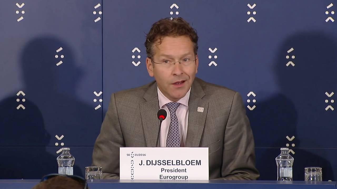 Συνέντευξη Τύπου μετά το πέρας της συνεδρίασης του Eurogroup – Γερούν Ντέισελμπλουμ