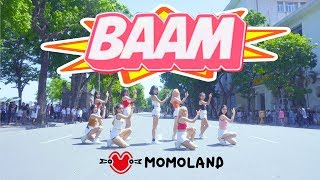 Video [KPOP IN PUBLIC CHALLENGE] MOMOLAND (모모랜드) - BAAM (배앰) DANCE COVER by BLACKCHUCK MP3, 3GP, MP4, WEBM, AVI, FLV Juli 2018