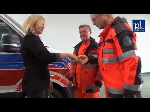 Nowy ambulans transportowy