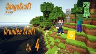 Minecraft Crundee Craft 4. rész Fosszunk ki egy erődöt, legyen az a házam