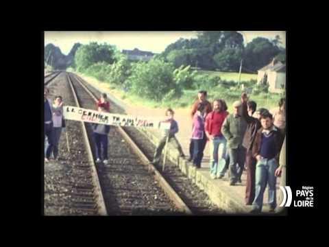 """Nantes-Châteaubriant, histoire d'une ligne"""" en 1980. 4/4"""