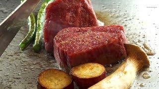 Video $220 Kobe Beef Lunch - Kyoto - Teppanyaki in Japan MP3, 3GP, MP4, WEBM, AVI, FLV Juni 2019