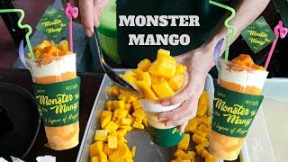 Video Super Fresh & Creamy Beverage  🍦MONSTER MANGO🍦 Thailand Style MP3, 3GP, MP4, WEBM, AVI, FLV Mei 2019