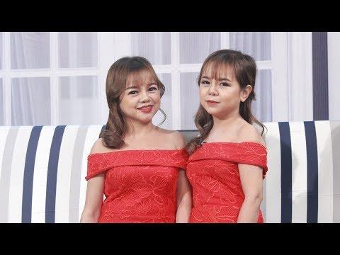 Hai chị em búp bê xinh không dám mặc áo ngực vì sợ lộ tuổi bị trêu chọc