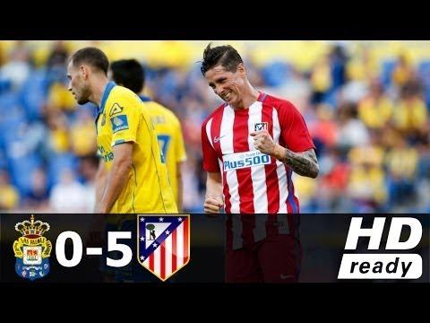 Las Palmas vs Atletico Madrid 0-5 - All Goals & Extended Highlights - La Liga 29/04/2017 HD