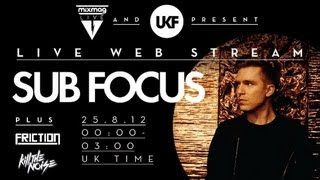 Sub Focus interview at  Mixmag Live