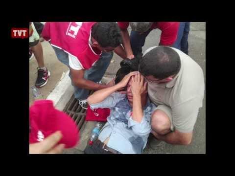 Trabalhadores são agredidos, mas impedem votação do PL da terceirização