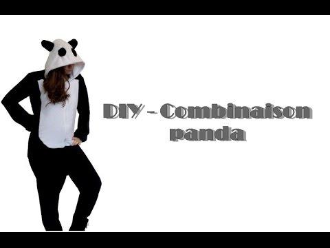DIY - Combinaison panda