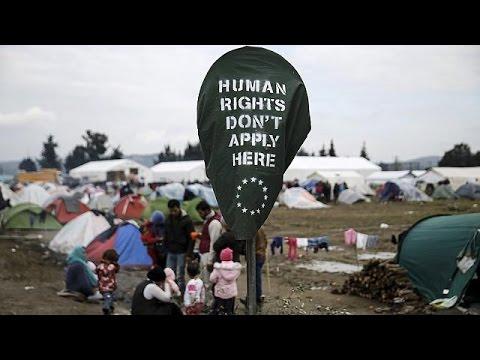 Ειδομένη: Νύχτα αγωνίας για τους πρόσφυγες