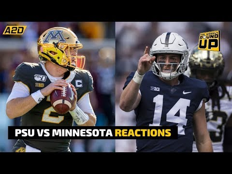 Penn State vs Minnesota LIVE Reactions | The Weekly Round-Up