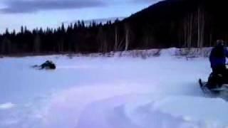 9. ski doo tundra 550f vs sammit 600e-tec drift