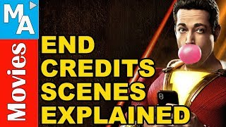 What was THAT?!?! - Shazam! (2019) End Credits Scenes Explained