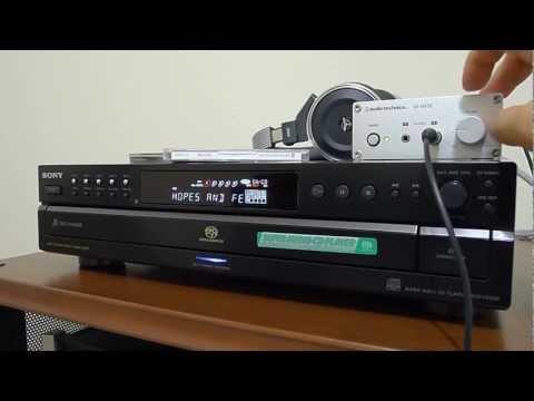 Budget SACD headphones system, Sony SCD-CE595