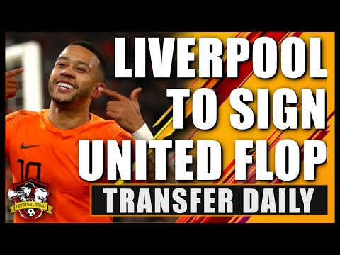 Liverpool Set To Sign Ex Manchester United Player Memphis Depay? Transfer Daily