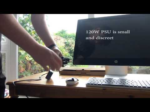 HP Pavilion 23 AIO Desktop AMD APU unboxing and set up