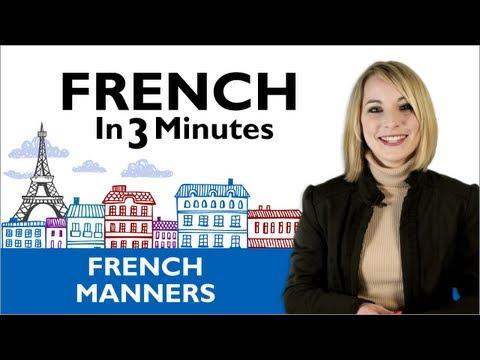 Danke und Bitte auf Französisch