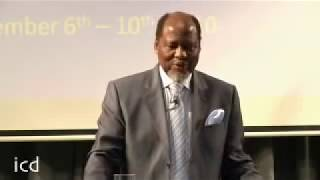 Joaquim Chissano, Former President of Mozambique