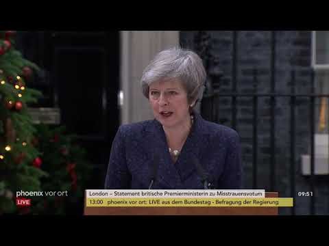 Großbritannien: Statement von Theresa May zu mögliche ...