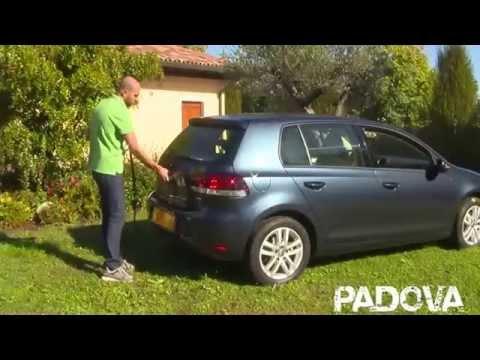 Montaggio portabici posteriore auto Peruzzo Padova