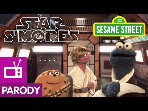 Sesame Street Star S Mores Star Wars Parody