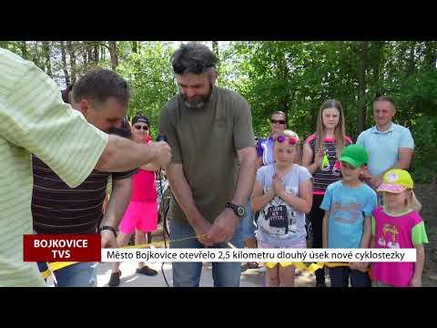 TVS: Bojkovice - Otevření cyklostezky