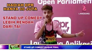 Video Stan Up Comedy Pace Meno Protes Sama DPR Tentang Toilet dan Hadiah MP3, 3GP, MP4, WEBM, AVI, FLV Oktober 2018