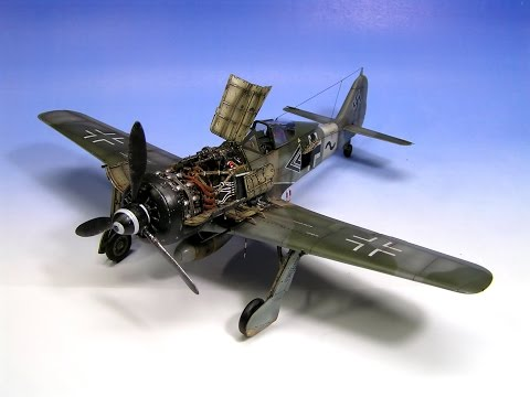 Watch This Guy Assemble Fw190 FockeWulf A8 Model
