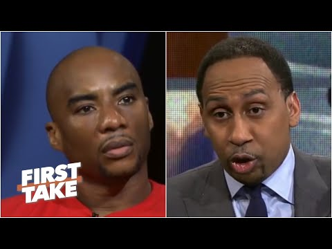 Charlamagne Tha God Confronts Stephen A. Over Colin Kaepernick   First Take   April 24, 2017 (видео)