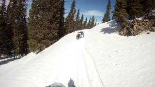 2. Tundra Skidoo - 14 Year Old Showing How To Ride a Tundra R