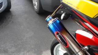8. Tigcraft sound check. Aprilia Tuono Racing