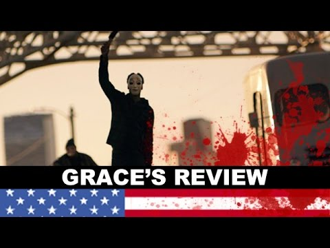 review trailer - The Purge Anarchy movie review! Beyond The Trailer host Grace Randolph shares her review aka reaction today to The Purge 2! http://bit.ly/subscribeBTT The Purge Anarchy Movie Review. Beyond...
