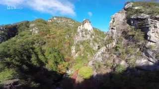 空撮 山梨 昇仙峡