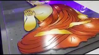 High Printing Speed Caiyi Digital Glass UV Printer CY-UV2030 youtube video