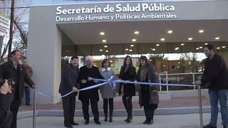 Andreotti inauguró una nueva Secretaria de Salud