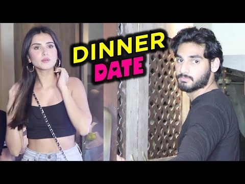 Suniel Shetty Son Ahaan Shetty DATE NIGHT With Tar