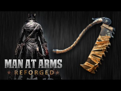 Bloodborne Saw Cleaver MAN AT ARMS REFORGED