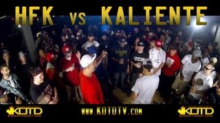 King of the Dot | HFK vs. Kaliente