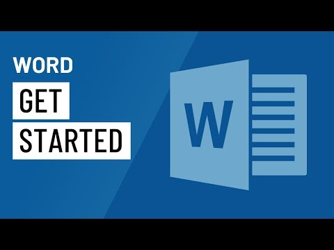 Word: Getting Started